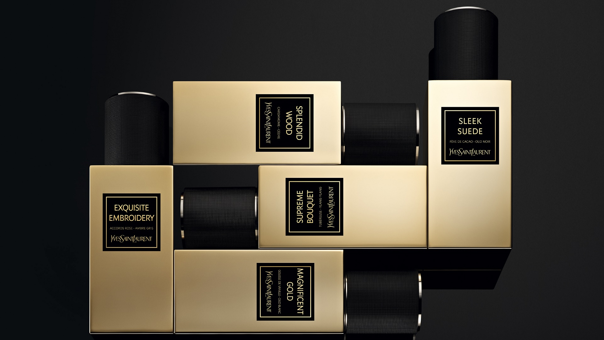 COLLECTION ORIENTALE, LOS NUEVOS PERFUMES DE YVES SAINT LAURENT