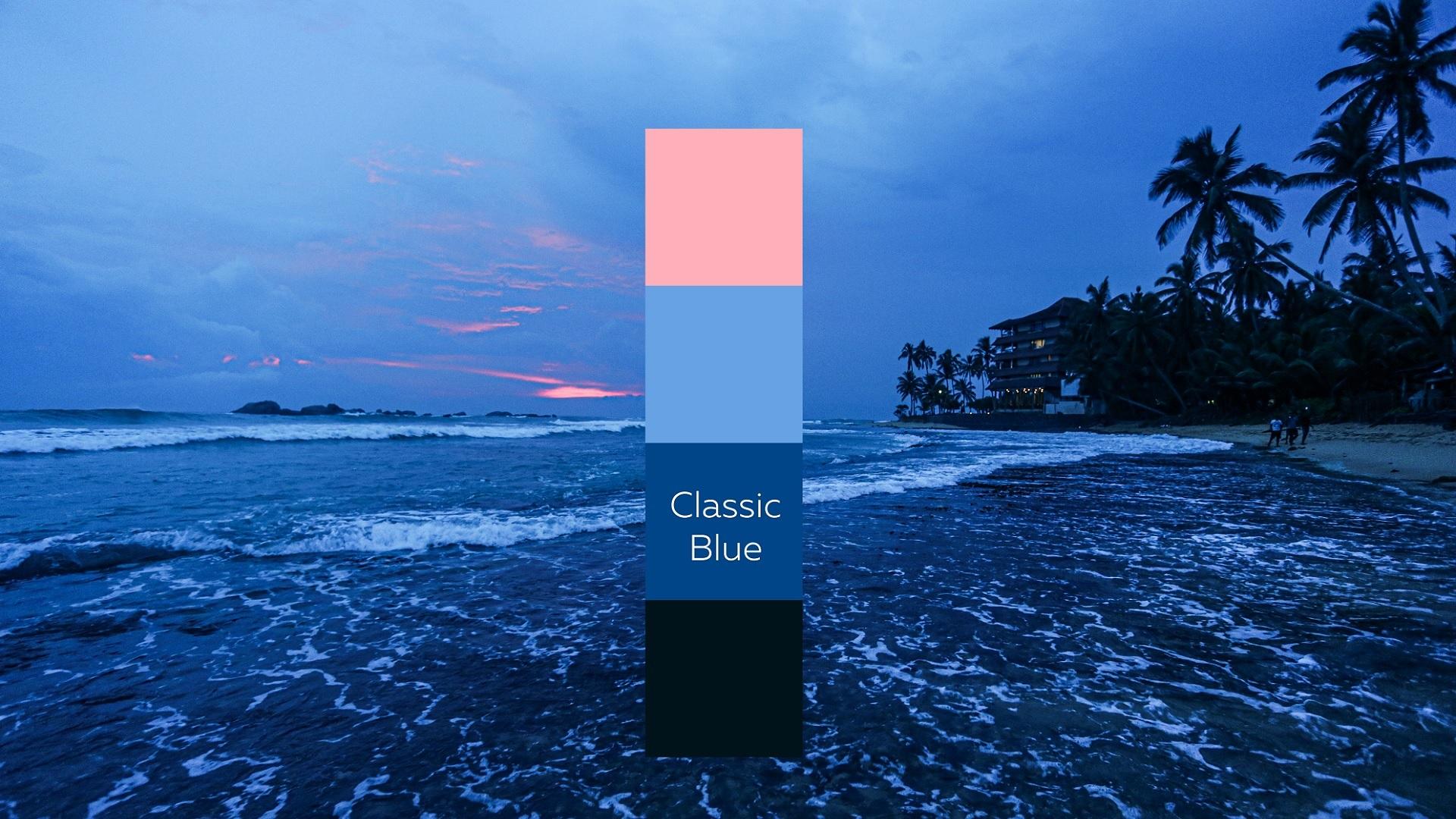 Pantone Classic Blue, el color del 2020