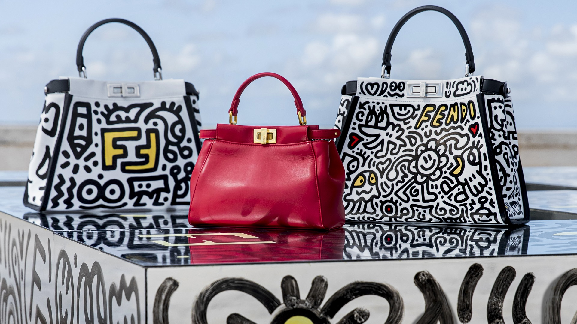 Fendi y Mr. Doodle Capsule Collection
