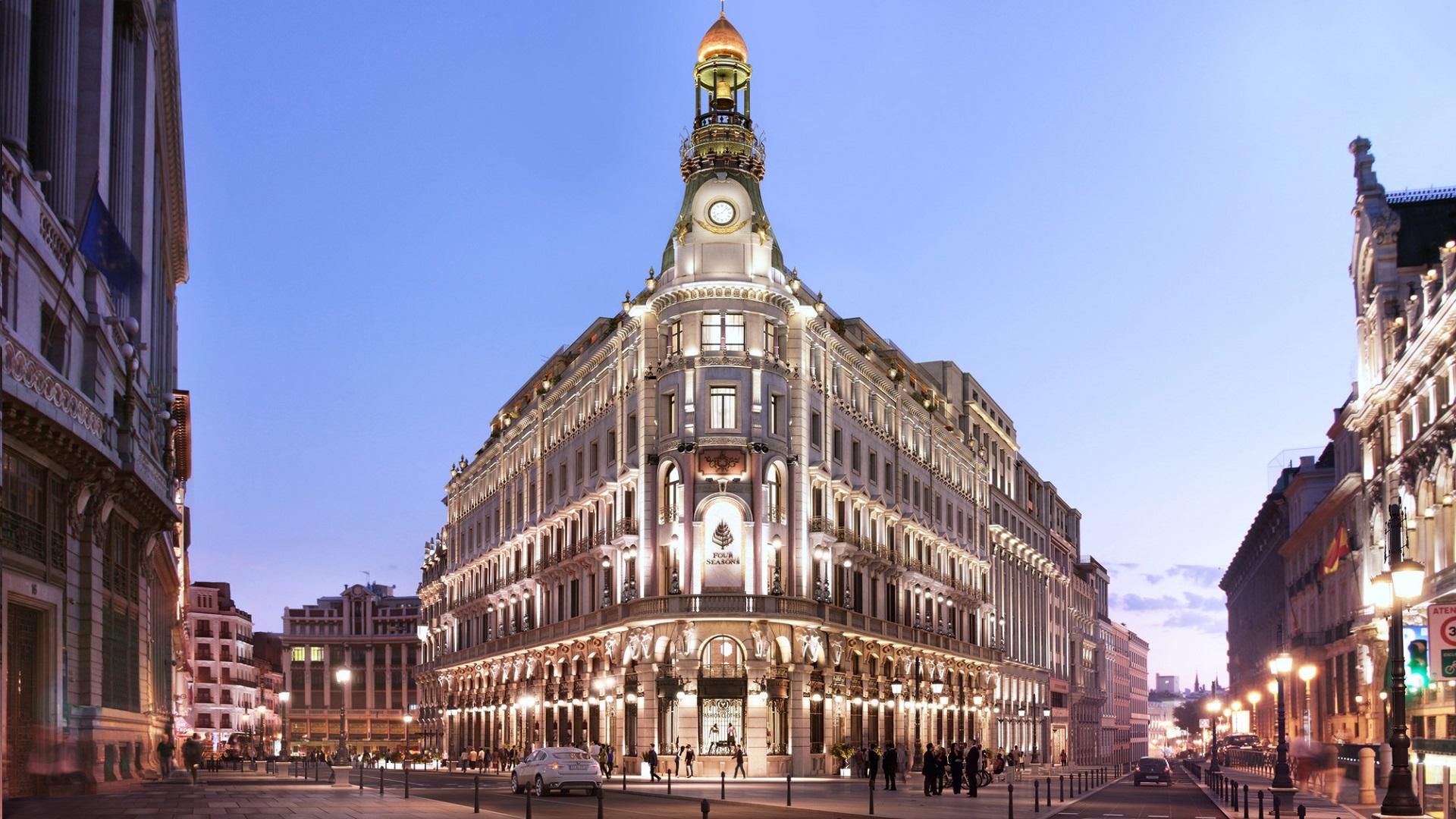 Así es el nuevo Four Seasons Madrid Hotel