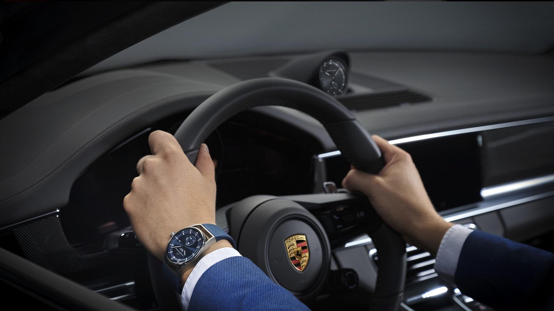 Reloj Sport Chrono Porsche Design, en tu coche y en tu muñeca