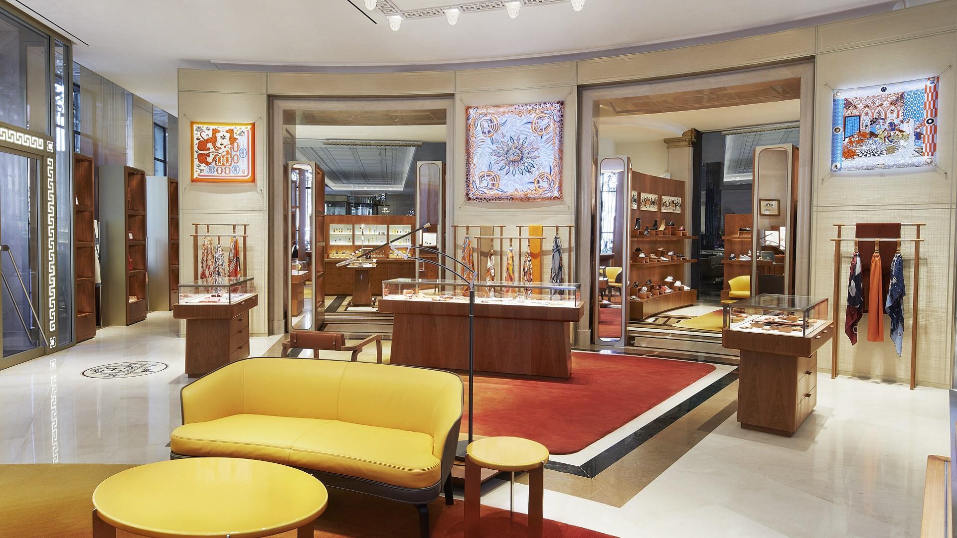 Hermès inaugura nueva tienda en Madrid