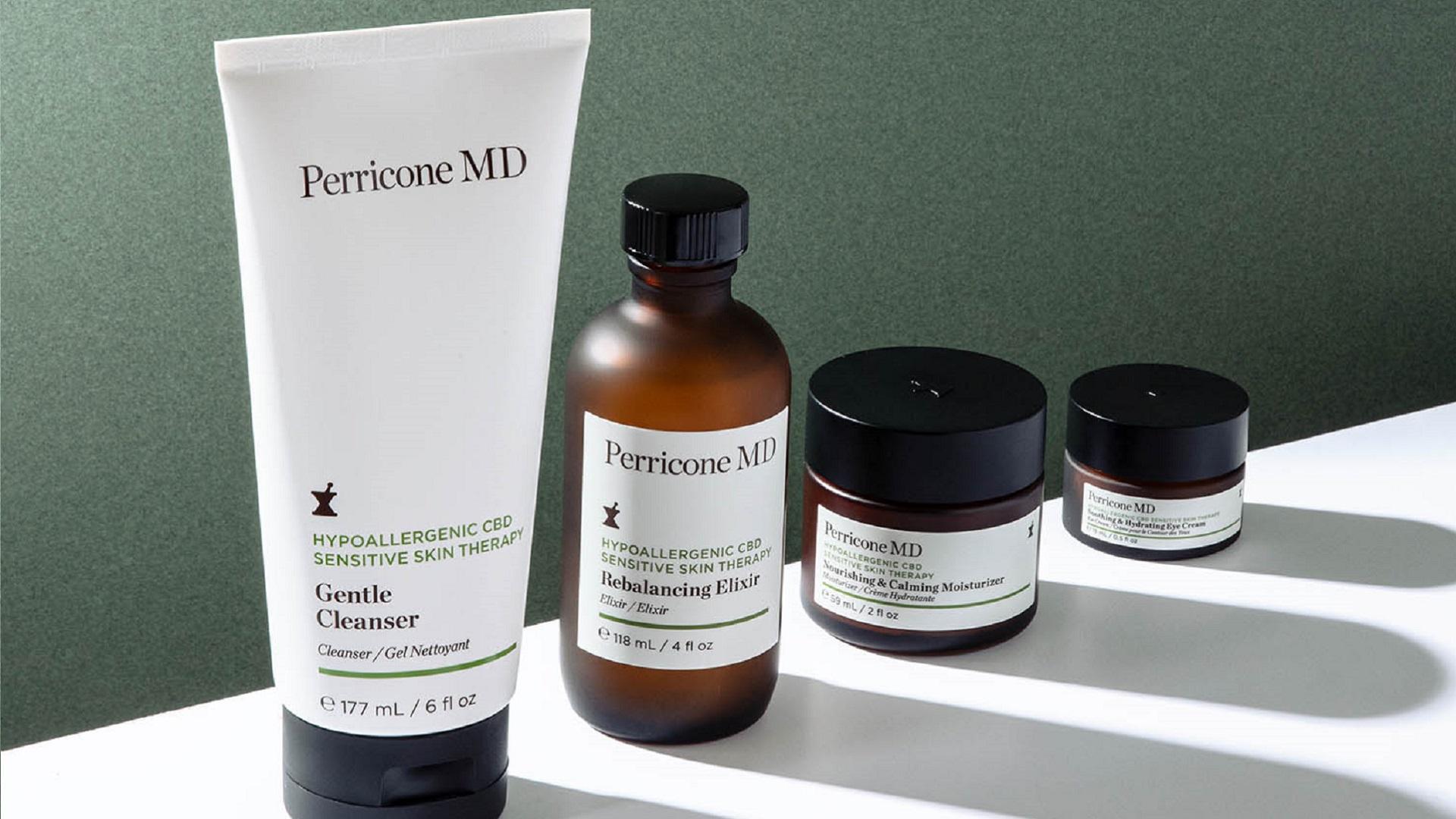 Perricone lanza una línea centrada en los CBD para las pieles sensibles