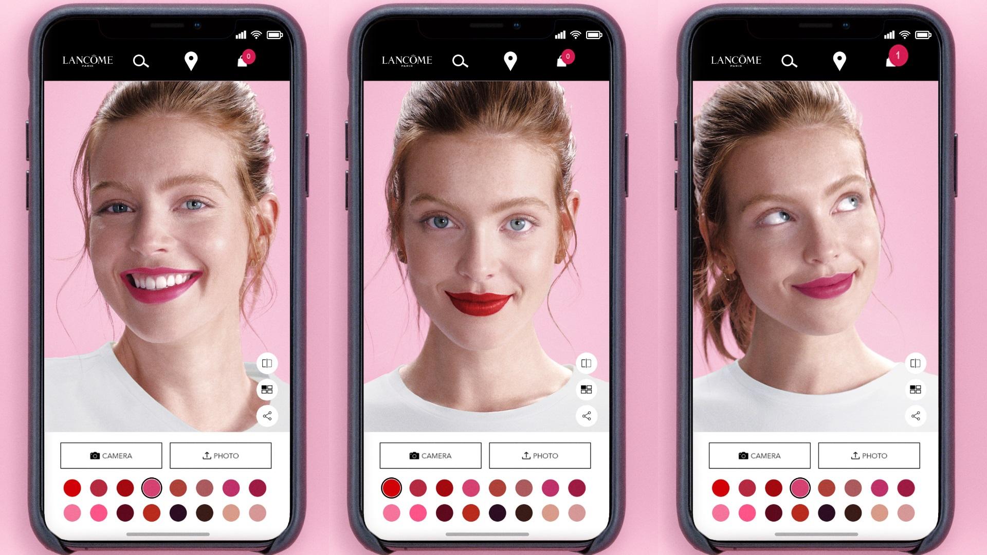 Las nuevas Apps de belleza de Dior, Lancome, Mac, Clarins y L'Oréal