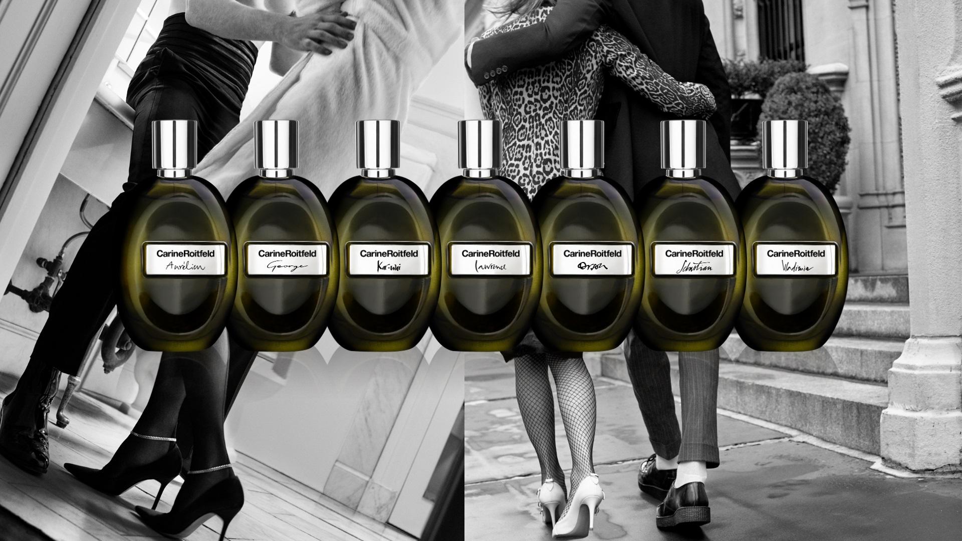 7 Lovers, la colección de perfumes de Carine Roitfeld