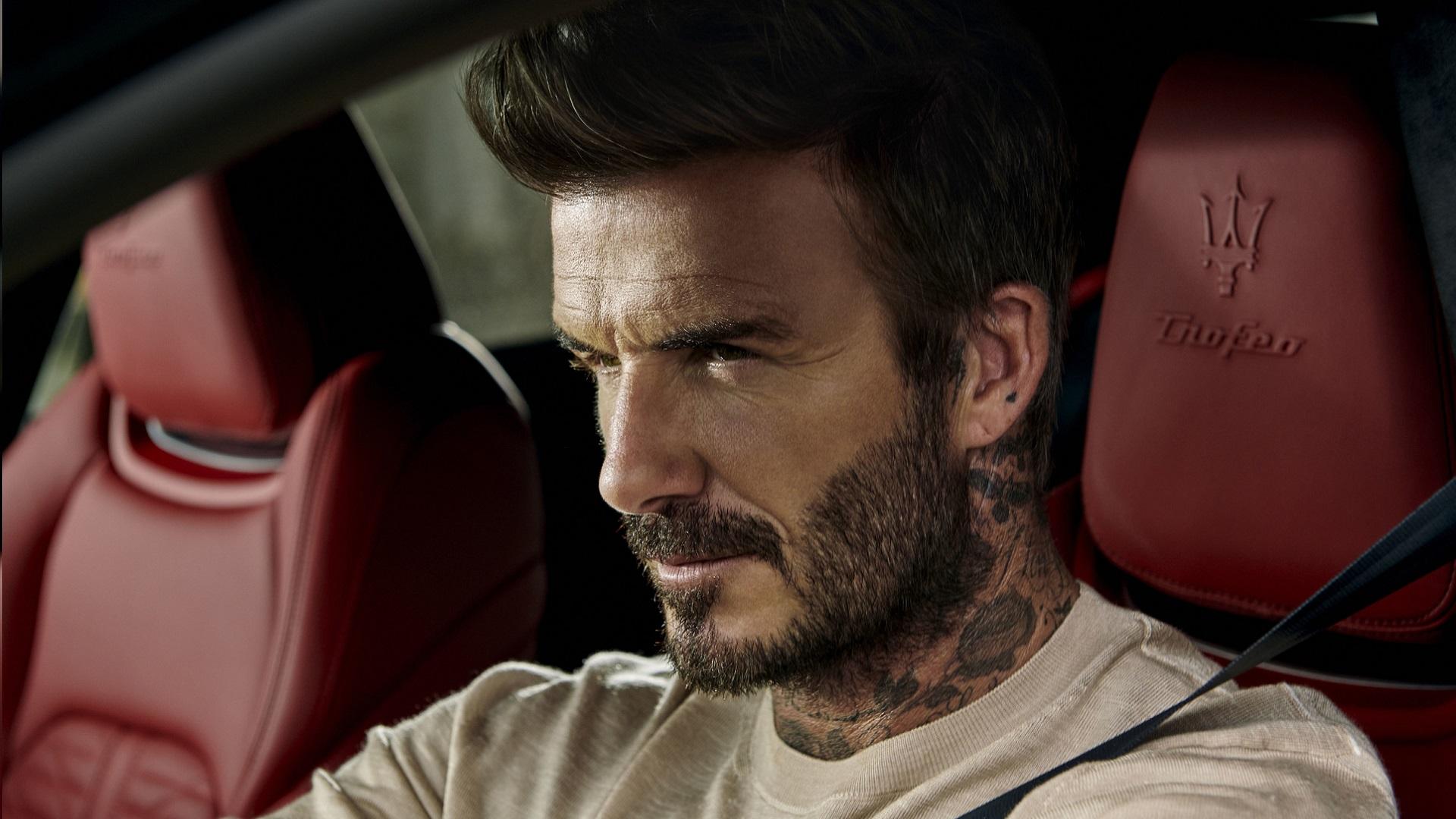 David Beckham y Maserati, una alianza de lujo