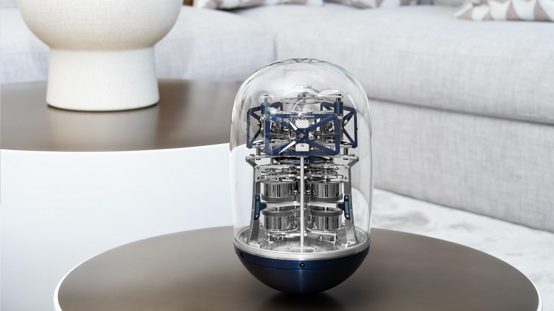 Ufo, el nuevo reloj de mesa de Ulysse Nardin